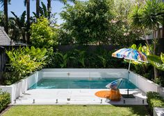 If you are lucky enough to have a backyard, you have many possibilities. Even when you have a small backyard you can still fit into a small pool. When you have a small backyard, you can still get i… Small Backyard Design, Backyard Patio Designs, Small Backyard Landscaping, Landscaping Ideas, Backyard Ideas, Pool Backyard, Pool Fence, Small Backyard With Pool, Fence Ideas