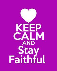 Faithfulness ♥