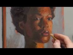 How to Paint Natural Skin Tones with Acrylics - YouTube