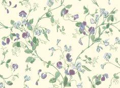 Tasteful violet wallcovering by Cole