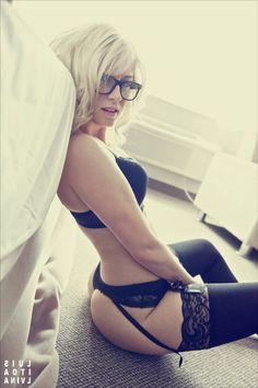 sumthin about this shot lizziepatrick #sexy #desiremagazine.com #nerd