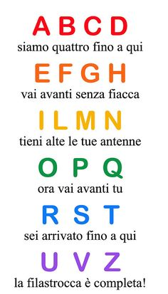 Language Activities, Infant Activities, Activities For Kids, Italian Alphabet, Italian Grammar, Pre School, Games For Kids, Kids Playing, Affirmations