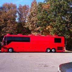 Jason Crabb Tour Bus