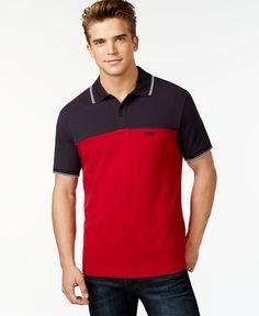 Armani Jeans Colorblock Polo