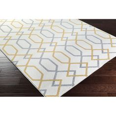 """Meticulously Woven Gagny Geometric Area Rug (3'3"""" x 5') - Overstock™ Shopping - Great Deals on 3x5 - 4x6 Rugs"""