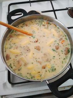 Vegetarian Recipes, Healthy Recipes, Edamame, Enchiladas, Cheeseburger Chowder, Healthy Food, Brunch, Soup, Vegan