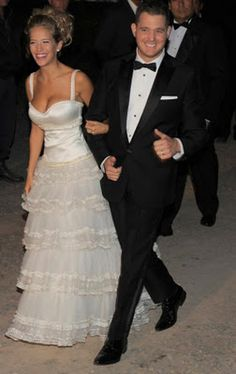Retrô - Casamento de famosos 2011. Michael Bublé e Luisana Lopilato