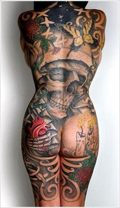 9 Best Full Body Tattoo Designs For Men and Women | Styles At Life