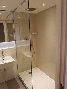 Bathroom fitting in South West London - build in shower