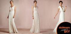 Vestidos de novias con un estilo fresco y casual ¡Puedes ser más informal sin perder el glamour!