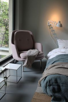 Fritz Hansen | The new Fri Armchair, designed by Jaime Hayon for Fritz Hansen. Revealed at the Fritz Hansen showroom during Milan Design Week 2015.