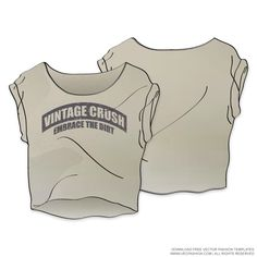 Womens Wide Neck Vintage Top with Dirty Wash