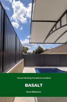 Worn-out fence spoiling your garden? We turn tired Perth fences into modern backdrops. See our fence spray paiting makeovers. Fence Landscaping, Perth, Outdoor Gardens, Backdrops, Deck, Backyard, Colours, Landscape, Places