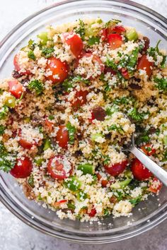 This French-Style Couscous Salad, known as Taboulé is ubiquitous in France. Fragrant, satisfying and tasty, it is simple to make and a great Summer recipe. Beef Recipes, Vegetarian Recipes, Cooking Recipes, Healthy Recipes, Cooking Ideas, Couscous Salad Recipes, Beet Salad, Recipe For Couscous, Canadian Food