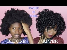 TWIST N' CURL FOR TYPE (4A,4B,4C) NATURAL HAIR | ft. LA NATURALS [Video] - Black Hair Information