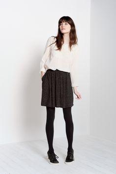 Filo Black Skirt