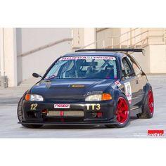 Eg Honda Civic Hatchback, Honda Civic Type R, Tuner Cars, Jdm Cars, Civic Eg, Japan Cars, Karting, Honda Cr, Car Engine