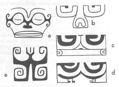 Sculpture and Design: An Outline of Maori Art Polynesian People, Maori Patterns, Pattern Meaning, Maori Designs, Maori Art, Outline, Alphabet, Carving, Sculpture
