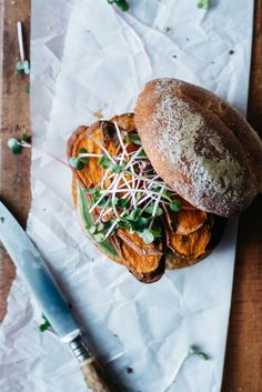 spicy sweet potato chip + avocado sammie — dolly and oatmeal