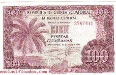 BILLETE 100 PESETAS GUINEA ESPAñOLA PLANCHA - COLECCIONISMO MONEDAS Y BILLETES - ORENSE ORENSE GALICIA