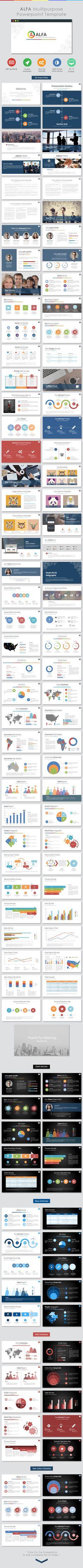 Alfa – Multipurpose Powerpoint Template (PowerPoint Templates)