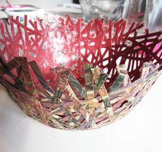 Etcetorize: DIY Paper Bowl