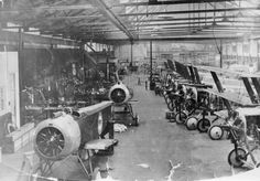 WW1 Sopwith Kingston aircraft factory
