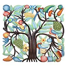 Vibrant Tree Wall Hanging