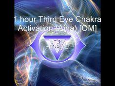 1 hour Third Eye Chakra Meditation Music [OM] - Open your Third Eye Chakra