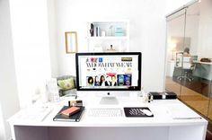 Décor dos sonhos: inspire-se com oito escritórios fashionistas famosos | http://alegarattoni.com.br/oito-escritorios-fashionistas-famosos/