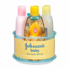 Johnson & Johnson Baby's First Touch Gift Set - buybuyBaby.com   *I LIKE THIS GIFT SET*  #baby #wishlist #gifts $11.99