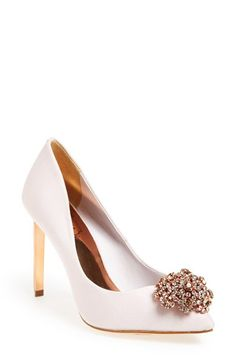 Jeweled pumps by Ted Baker London http://rstyle.me/n/pq3xwn2bn