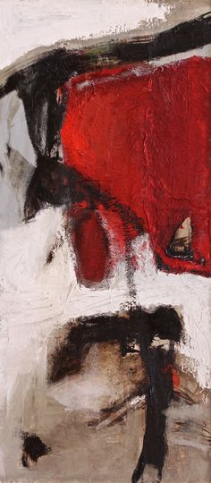 Tracce rosse - 2014 - olio su tela - cm 90 x 40 Abstract Paintings, Art Paintings, Original Paintings, Abstract Art, Franz Kline, Collage Ideas, Acrylic Colors, Female Portrait, Limited Edition Prints