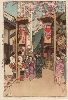 吉田 博(明治9年-昭和25年)洋画家、版画家。自然と写実、そして詩情を重視した作風で、風景画家の第一人者として活躍した。wiki とってもいい!