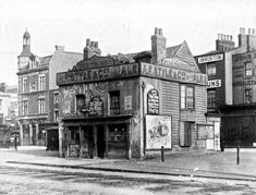 Vine Tavern, Shoreditch - The Vine Tavern was situated at 31 Mile End Road. This pub was closed and demolished c.1911.