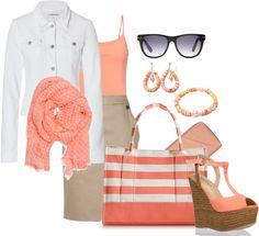 Orange Sherbet, created by mary-kay-simpson on Polyvore