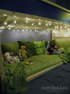 Love this cozy space for underneath the Ikea Kura unit hack bed Cama Ikea, Ikea Kura Bed, Kura Bed Hack, Ikea Kura Hack, Ikea Hacks, Big Girl Rooms, Boy Room, Kids Room, Kid Beds
