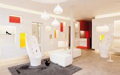 We are a global and creative design studio in Geneva, Tokyo and Beijing. Japan Design, Retail Experience, Retail Interior, Retail Space, Retail Design, Creative Design, Interior Design, Mirror, Projects