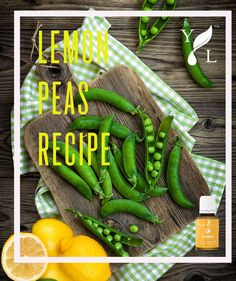 Lemon Peas Recipe • 2 tablespoon extra-virgin olive oil • 2 cups frozen peas, thawed and drained • 2-3 drops Lemon essential oil • Salt to taste Heat olive oil in a large frying pan over medium heat. When hot, add the peas. Cook until softened, 3-5 minutes. Remove from heat and add salt and Lemon essential oil to the pan. Adjust seasonings to taste and serve warm. #IntheKitchenwithYL