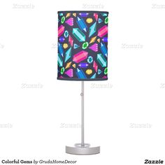 Colorful Gems Table Lamp