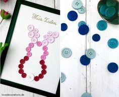 DIY Knopfbild Ostern // DIY Buttonspicture Easter
