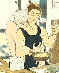That scene is like in a lot of fanfictions. - KakaIru - Naruto