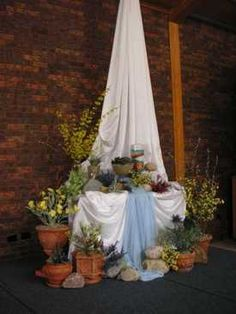 Easter, baptism or living water imagery