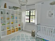 Lovely nursery in this Tallahassee home for sale - Check our blog for the Virtual Tour!