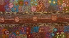 Amazing Australian Aboriginal Artwork by Michelle Possum Nungurrayi / Women's Dreaming is the title of the painting. Aboriginal Artwork, Australia, Painting, Design, Painting Art, Paintings, Design Comics, Drawings