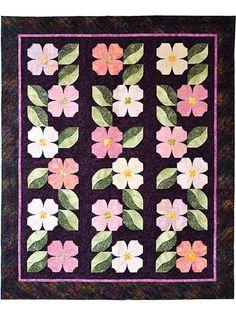 Carolina Dogwoods Quilt Pattern
