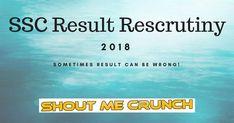 SSC Result 2018 Recheck Scrutiny Procedure & Result Text Posts