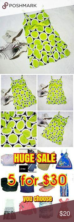 Easter ruffle dress green black size small women's Easter ruffle dress green black size small women's Dresses Mini