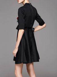 Fashion Ruffled Mini dress