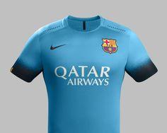 BarcelonaThird15 Uniforme Del Barcelona 8dafc16f5f3